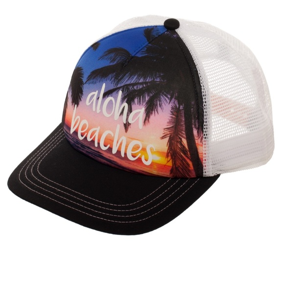 9c47bf86dc2b1 No Boundaries Accessories | Womens Aloha Beaches Hat | Poshmark